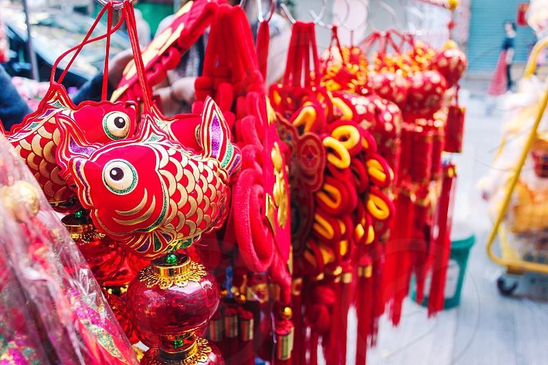 Hong Kong. Chinese New Year photo