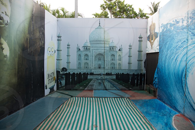 3D Selfie Gallery. Note that this is located on the premises of the Mysuru Sand Sculpture museum itself photo
