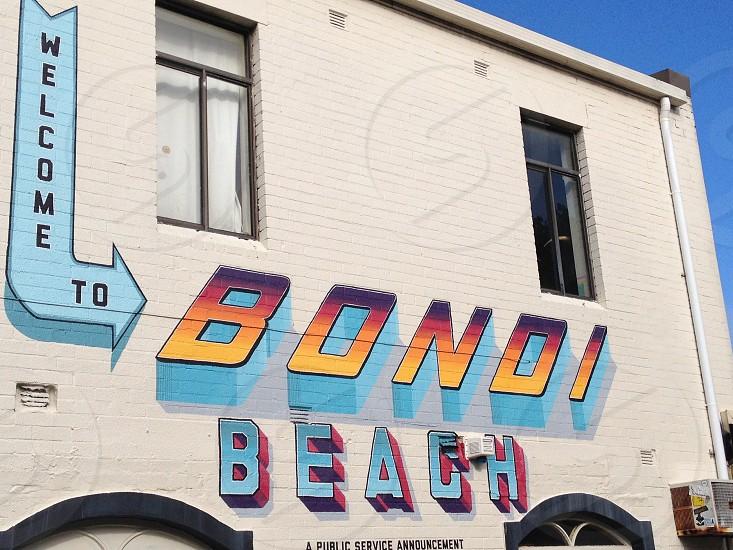 Welcome to Bondi beach Bondi Road photo