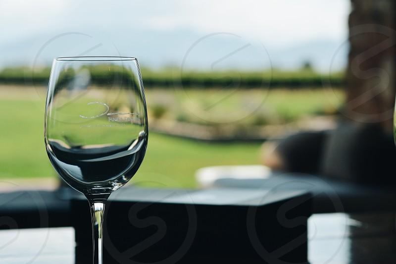 Vineyard winery winery  glass photo