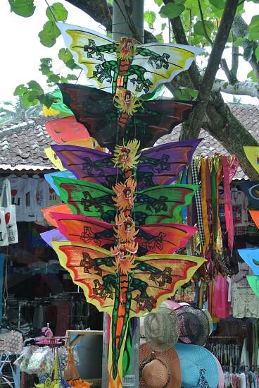 Souvenirs Variety Shop Kites Hats Bali  photo