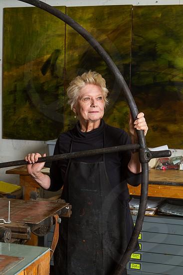 Artist Frances Swiggart New orleans. photo