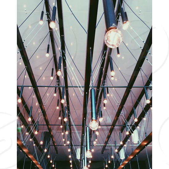 Industrial lights photo