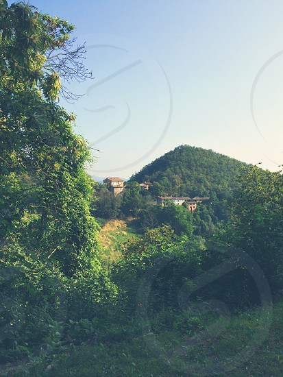 Hills Nature House Scenery Green photo