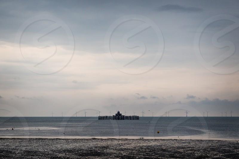 Pier at Herne Bay Kent photo