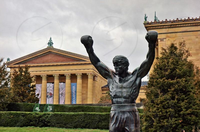 The Rocky Steps in Philadelphia photo