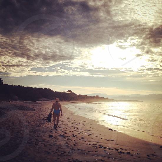 tropical beach photo