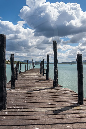The jetty at Hotel Cala Di Volpe Sardinia photo
