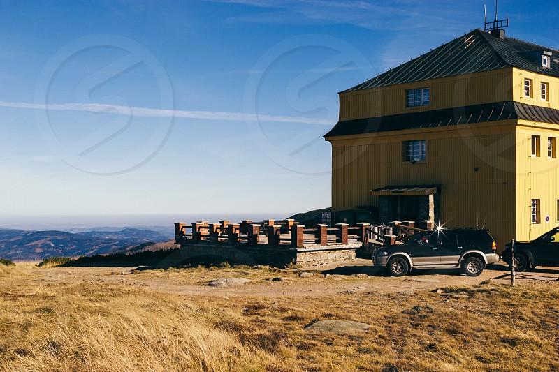 Dump at the Sniezka mountain in Karpacz photo