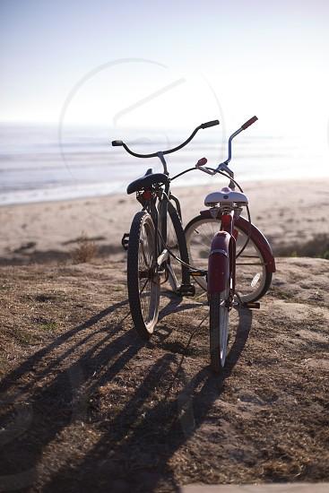 2 bicycles photo