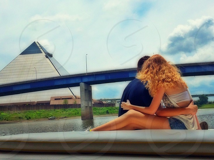 Memphis pyramid summer teen love memories summertime  photo