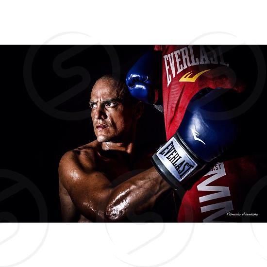 Portrait Sport Box Gloves photo