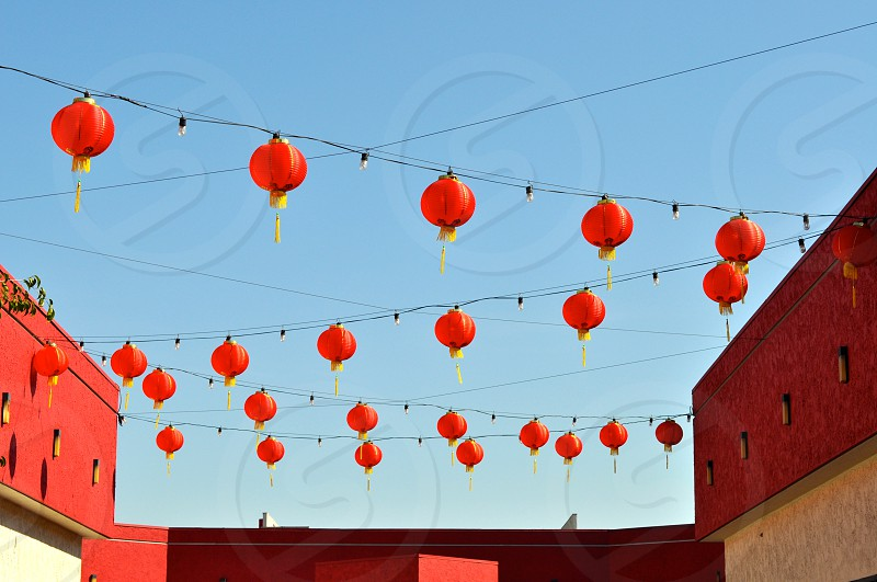 Preparations for Lunar New Year. photo