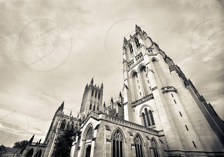 National Cathedral in DC photo