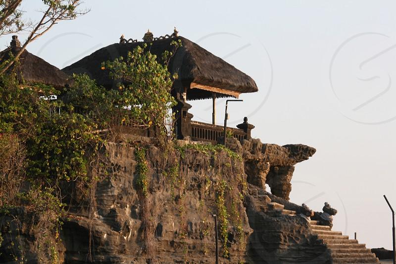 Tanah Lot Bali Famous Tourist attraction   photo