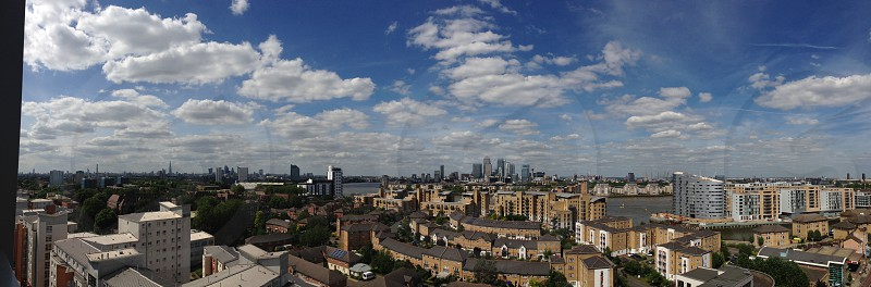 London skyline photo