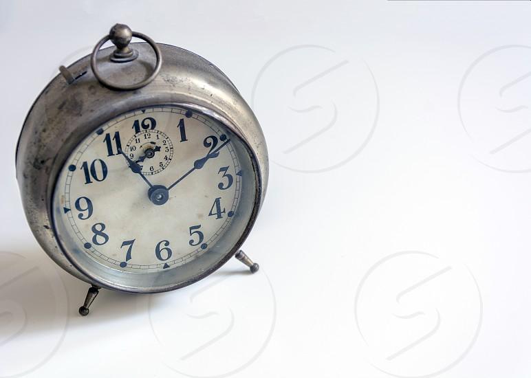 vintage analogic clock photo