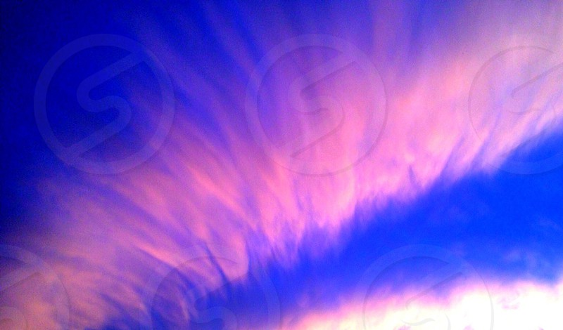 Sky clouds colors beautiful.  photo