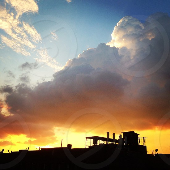 Brooklyn sunset photo