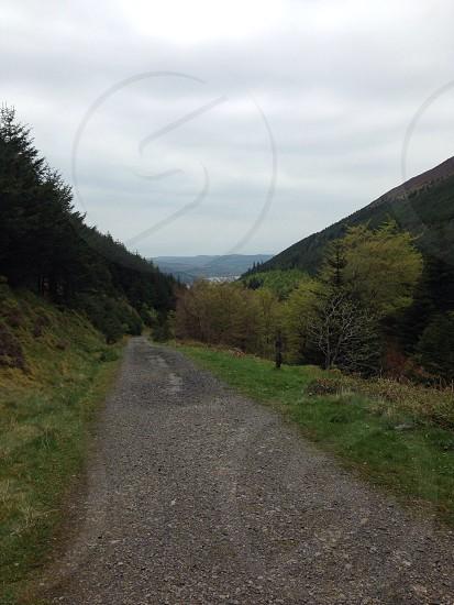 Leading Lines Lake District hills Bassenthwaite photo