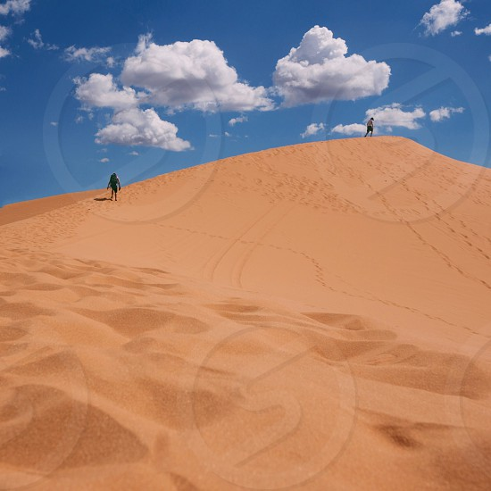 brown dessert sand photography photo