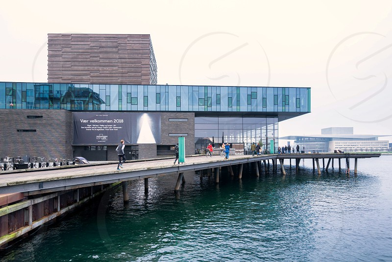 Royal Danish playhouse Copenhagen Denmark photo
