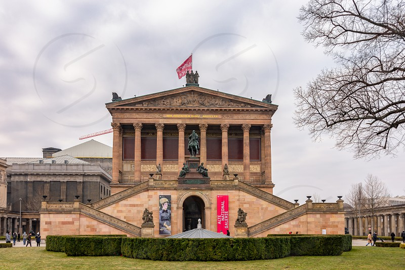 Berlin Germany February 12 2017 The Alte Nationalgalerie Old National Gallery Is An Art Gallery In Berlin Situated On Museumsinsel By Mirko Kuzmanovic Photo Stock Snapwire
