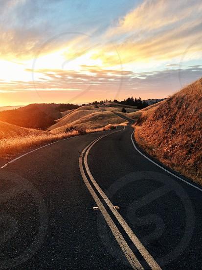 empty road photo