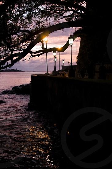 Sunset in Puerto Rico photo