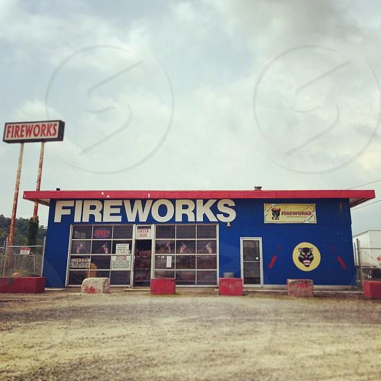 fireworks highway travel  photo