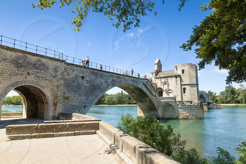 Pont Saint Bénézet at Avignon France photo