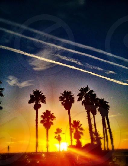 Sunset over Redondo Beach Ca photo