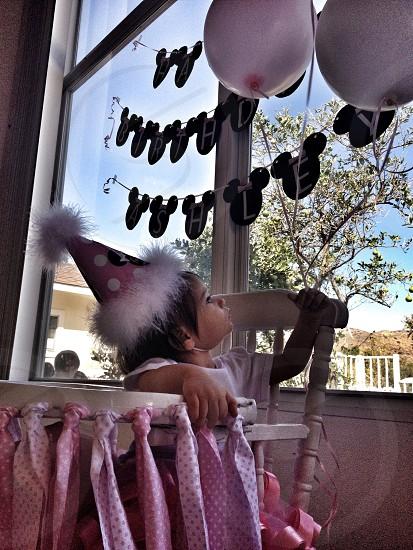 Balloons 1st Birthday Little Princess photo