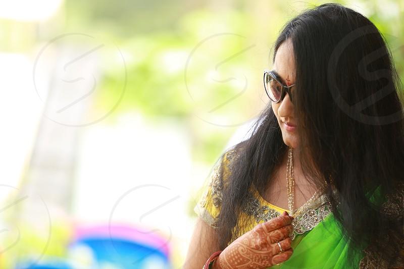 IndianAsiangirlportrait photo