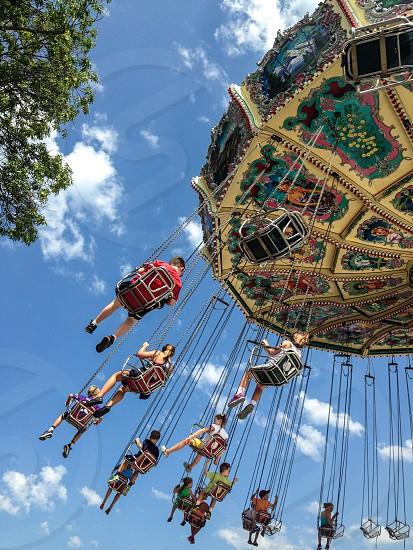State fair swings  photo