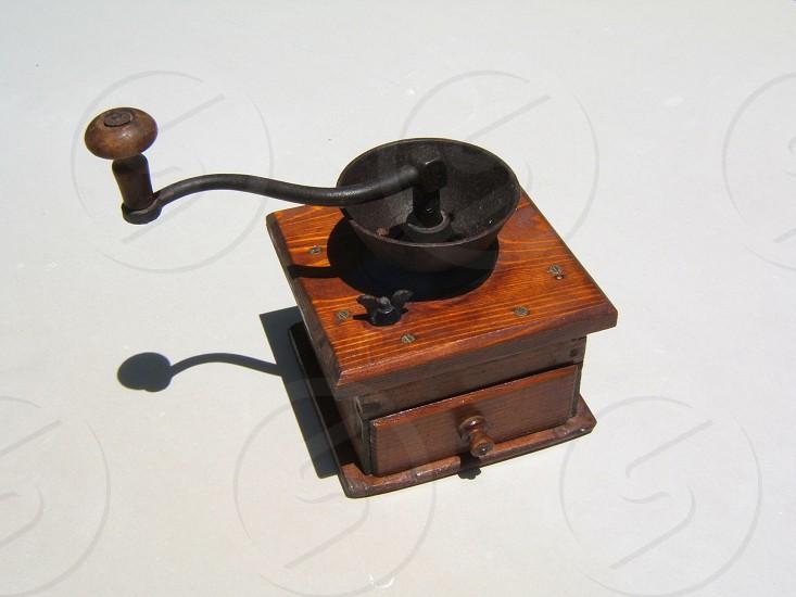 Vintage coffee grinder  photo