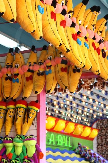 yellow banana plush photo