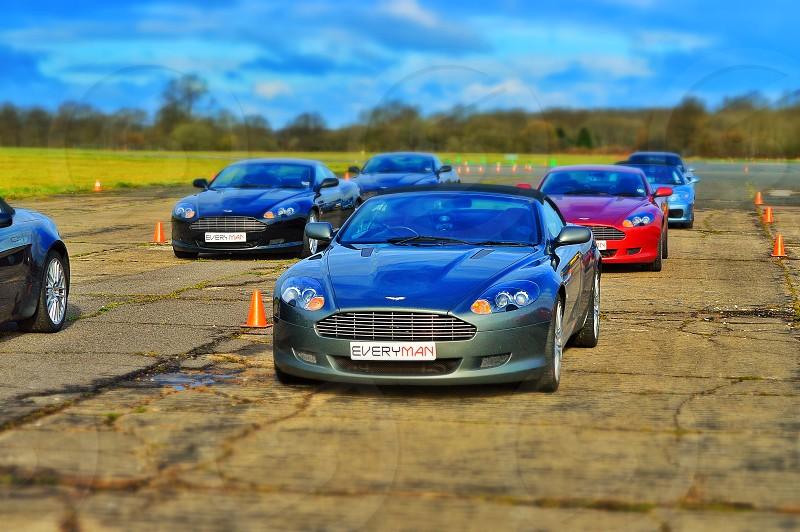 green Jaguar car photo