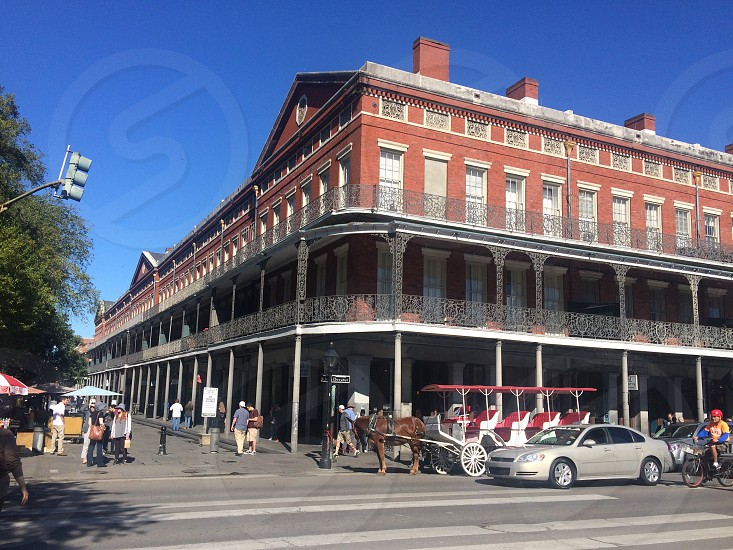 New Orleans 1850 House Jackson Square NOLA  photo