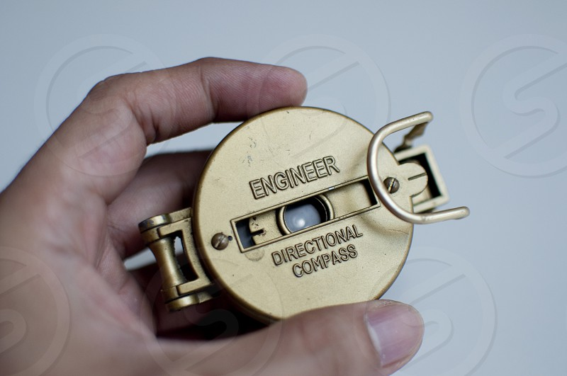 Engineer directional compass photo