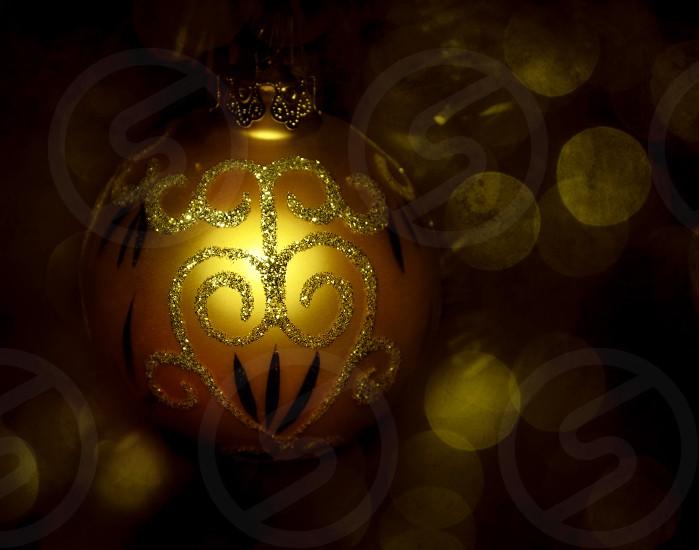 Christmas tree ball photo