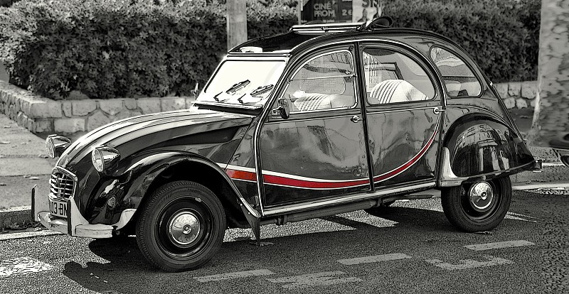 Retro Auto / Nice / France photo