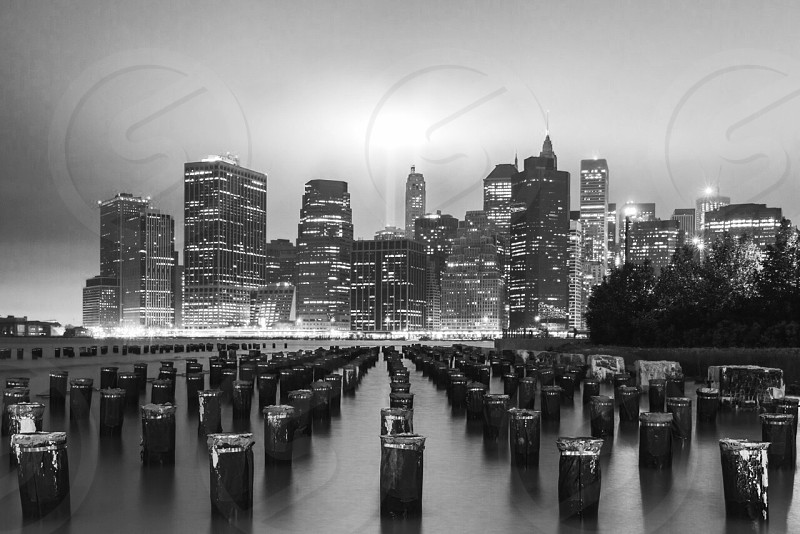 Tribute in Light 9/11 NYC. photo