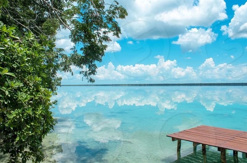 A relaxed weekend in Bacalar Mexico.  photo
