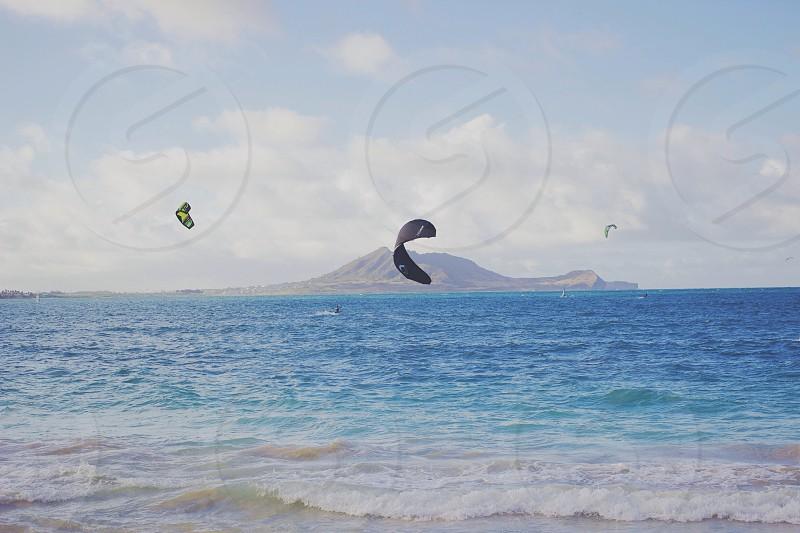 island in ocean photo
