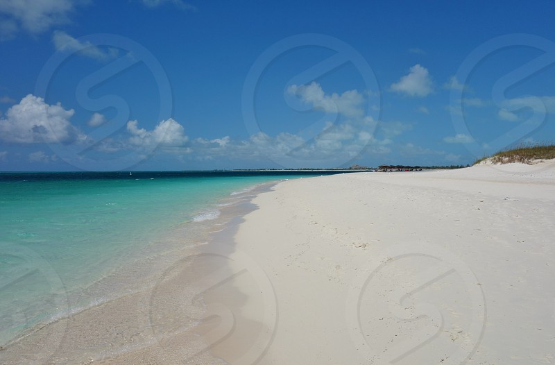 Grace Bay Beach in Providenciales Turks and Caicos photo
