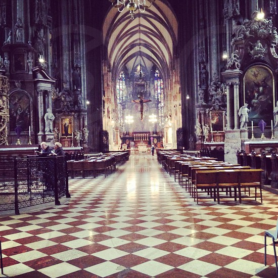 Interior of a Cathedral photo