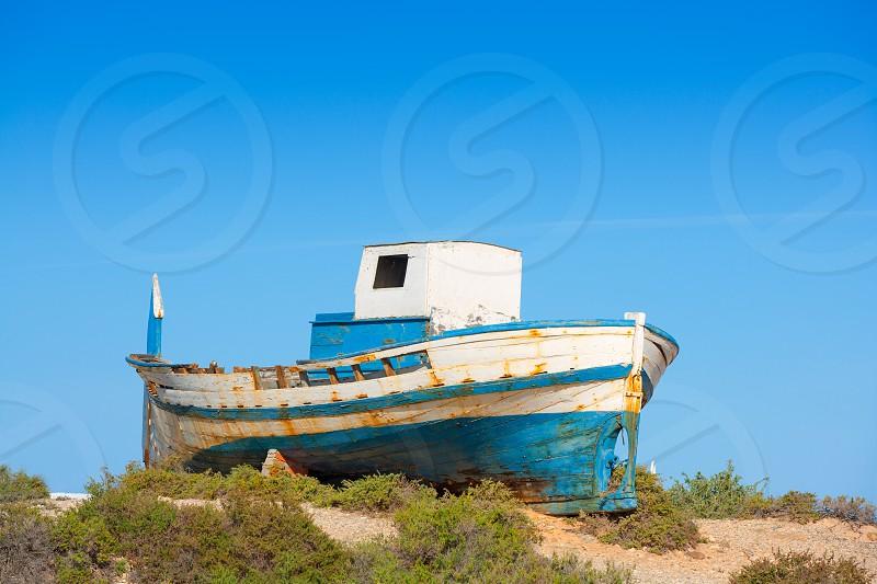 Tabarca island in Alicante Valencian Community of Spain photo