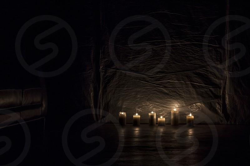 Candles in the Basement photo