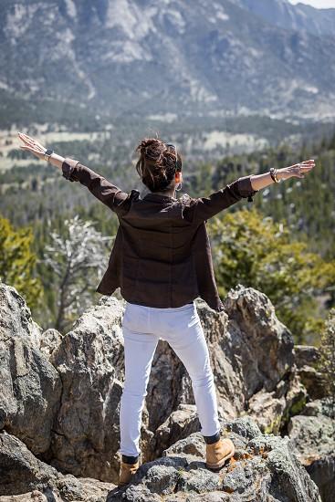 Impressions around the Rocky Mountain Nationalpark in Colorado photo
